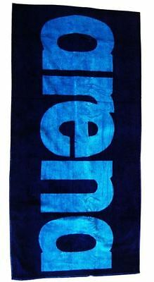 Arena Arena Logo Towel- Towels- Turquoise/Navy