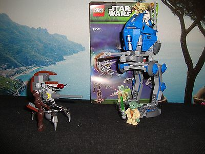 Lego star wars 75002 AT RT and figures