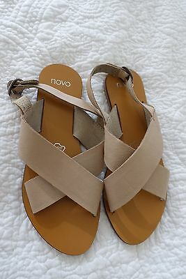 Novo Leather sandals Size 37 - Excellent Used Condition