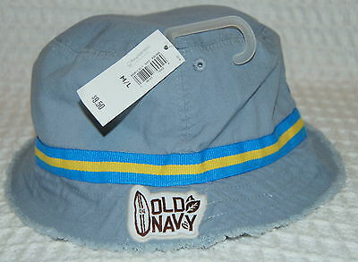 *nwt* Old Navy Bucket Hat Cap ** Reversible** Youth Size M / L