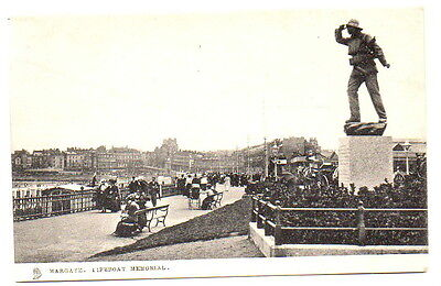 Lifeboat Surf Boat Memorial Margate Raphael Tuck & Sons 2020 Postcard