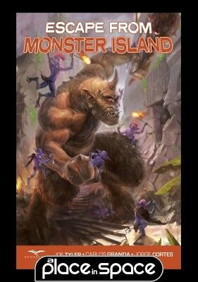 Escape From Monster Island  - Softcover