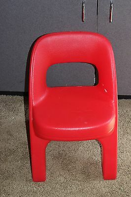Step 2 Red child Size Chair  for your little tikes kitchen table