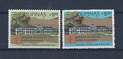 D130771 Medicine Tuberculosis Buildings Architecture MNH Philippines