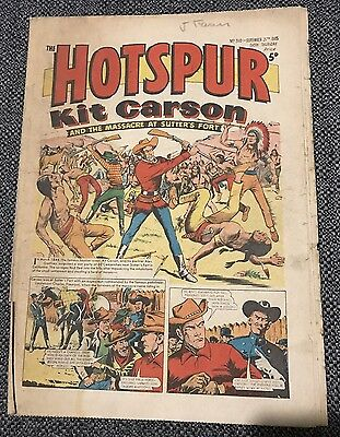 HOTSPUR COMIC No. 310 25th September 1965