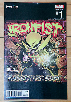 Iron Fist Issue 1 Hip Hop Variant Cover Marvel Now Danny Rand