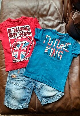 boys short/t'shirt bundle age 4 years from Next.