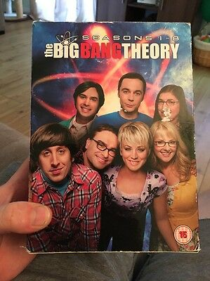 Big Bang Theory Season 1-8