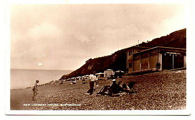 New Lifeboat House, Sheringham Postcard posted 1947