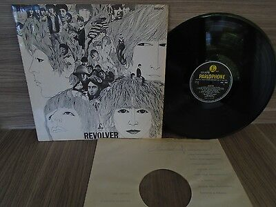 The Beatles Revolver Lp Uk Orig.pmc 7009 Mono -2 /-2 Fully Tested Vg