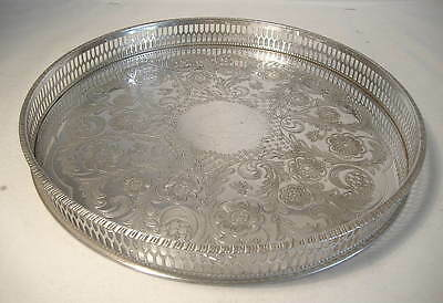Viners Alpha Plate Circular Gallery Tray - 10 Ins.