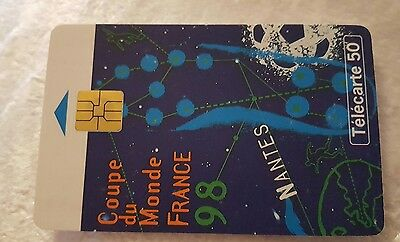 carte telephonique collection coup du monde 98