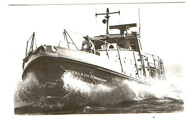 "Walton Lifeboat ""City of Birmingham""  Postcard unposted"