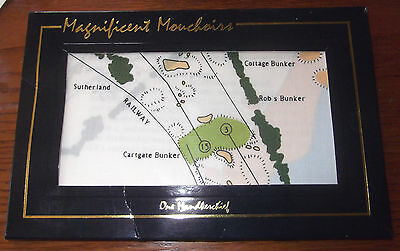 Rare, Vintage Handkerchief With The Old Course, St. Andrews -  Mouchoirs - New