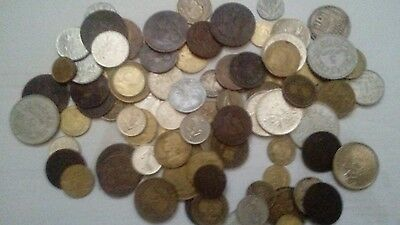 french coins from 1840's to late 1900's