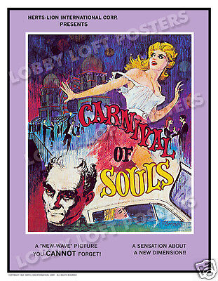 Carnival Of Souls Lobby Card Poster Os 1962 Candace Hilligoss Sidney Berger