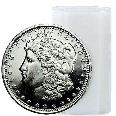 Roll of 20 Morgan Dollar Design 1/2 oz Silver Round USA SKU47770
