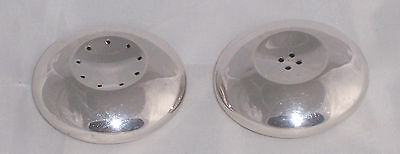 Danish Sterling Silver Cohr Salt & Pepper By Hans Hansen