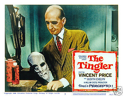 The Tingler Lobby Scene Card # 6  Poster 1959 Philip Coolidge  William Castle