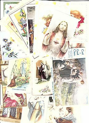 Lot Of 70 Paper Items  Religion Christianity.(See Scans)