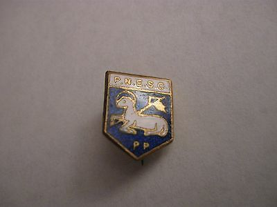 Rare Old Preston North End Football Supporters Club Enamel Brooch Pin Badge