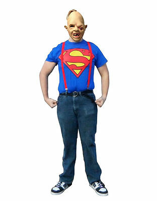 Goonies Costume, Mens Sloth Outfit Medium Sloth Fancy dress Halloween Stag party
