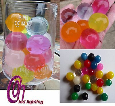 25 X LARGE Water Beads/Balls Crystal Soil Water Beads,Wedding,Flowers,Biodegrade
