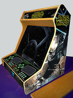 Arcade bartop cabinet MDF board + STICKERS - Kit DIY