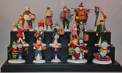 Department 56 North Pole Heritage Christmas Holiday Figurines! Lot of 15!