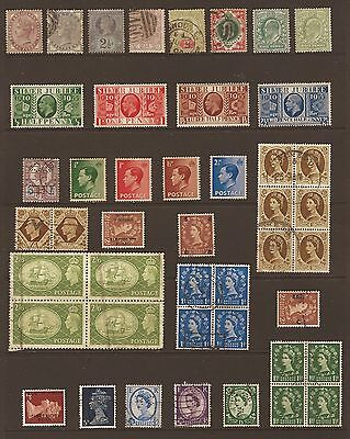 Great Britain Queen Victoria to pre decimal Queen Elizabeth Fine used  stamps
