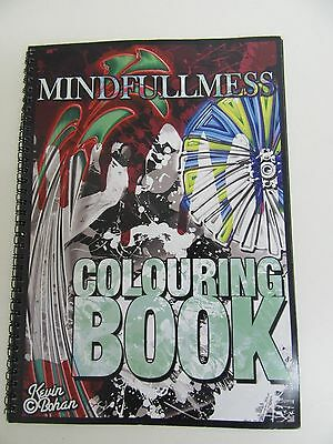 Limited Edition Signed Copy by  Kevin Bohan Colouring adult Book 1of 50