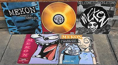 "Mekon Vinyl 12"" Lp Ep Album Wall Of Sound Records Welcome To Tackletown Schoolly"