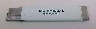 "Vintage Razor Knife/Box Cutter Advertising ""Muirhead's Scotch"""