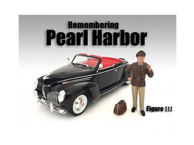 Diecast Remembering Pearl Harbor Figure III For 1:18 Scale Models by American Di