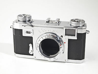Zeiss Ikon Contax IIa - Color Dial - Rangefinder Body - please read... exc.+