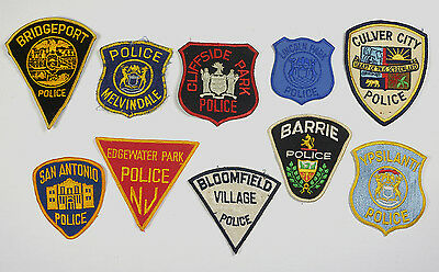 Vintage Police Patches Lot 36