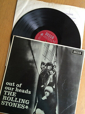 The Rolling Stones Out of Our Heads Vinyl Album 1st Press Unboxed Decca LK4733