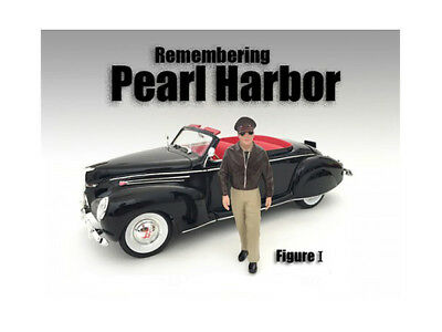 Diecast Remembering Pearl Harbor Figure I For 1:24 Scale Models by American Dior