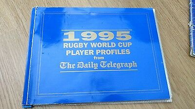 1995 Rugby World Cup Player Profiles From The Daily Telegraph