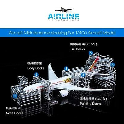 Brand New 1:400 Aircraft Maintenance Docking for 1/400 Model (PVC)