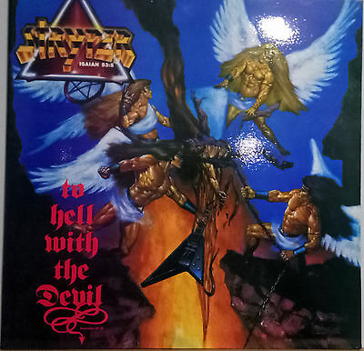 """STRYPER  """"To Hell With The Devil"""" Spanish Vinyl 1986.NEW!!!!!"""