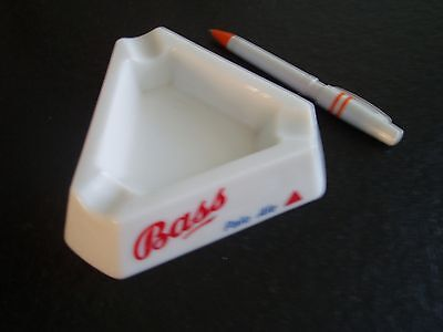 VINTAGE COLLECTIBLE Bass pale ale ASHTRAY candrier asbak Magnier Blangy France