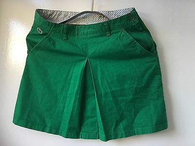 Lacoste Girls Skirt Size 14 Years  Great Condition Bargain