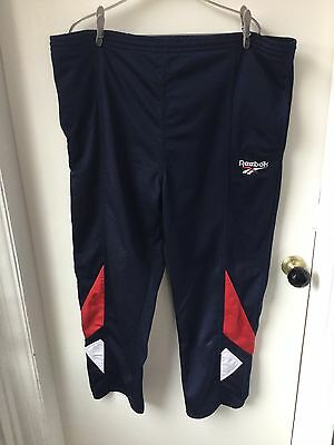 Reebok Vintage Tracksuit Bottoms Trousers Big & Mighty Size XL Bargain
