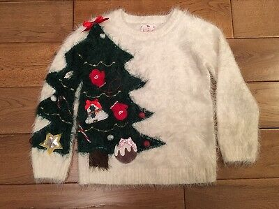 Girls Christmas Jumper (age 7 Years)