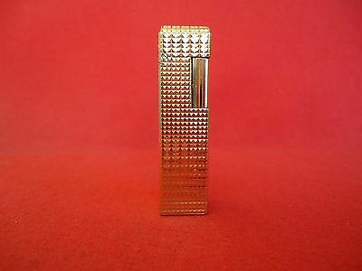 OLD DESIGN MODEL GAS LIGHTER ''COLIBRI OF LONDON''1970's.GOLD PLATED