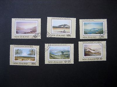 NEW ZEALAND 1988 1st HERITAGE ISSUE CDS USED SG1484/9