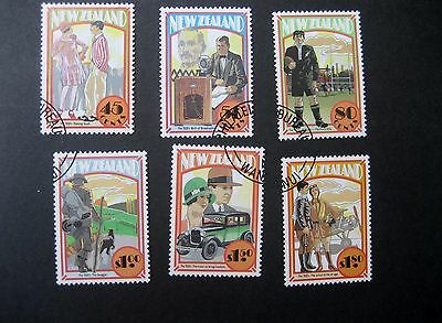 NEW ZEALAND 1992 THE 20s SET CDS USED SG1707/12