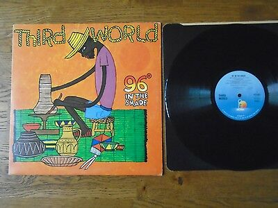 THIRD WORLD 96 IN THE SHADE LP. UK 1ST 1977 , ILPS 9443 EXVinyl TOP REGGAE