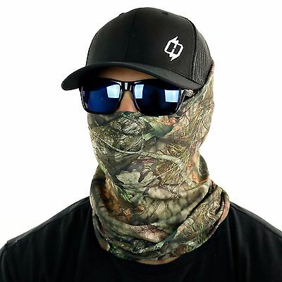 Mossy Oak Camo Face Masks and Neck Gaiters by Hoo-rag